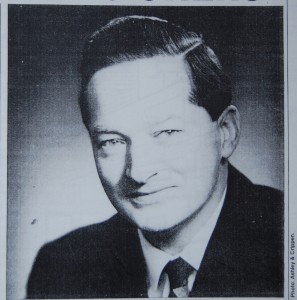 Matt Lawson, at the time he was Commissioner of Planning, probably late 1950s.