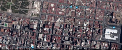 Historico Central from Google Maps